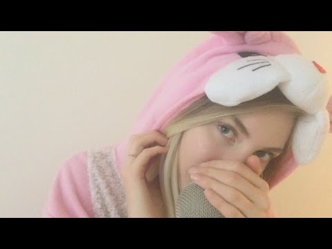 ASMR Bunny Gives you Comforting Attention |  Face Brushing, Tapping, Scratching, Eating Sounds