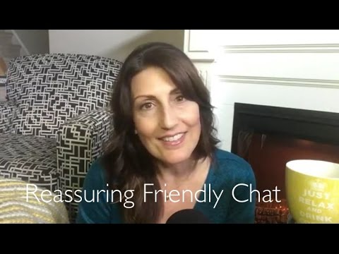 ASMR Reassuring Friendly Chat By the Fireside (Ramble Video) | Softly Spoken/Whispered