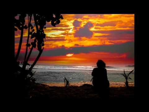 Beach Sunset Guided Relaxation and Meditation with Ocean Sounds