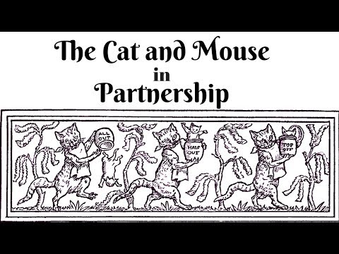 🌟 ASMR 🌟 Cat and Mouse in Partnership 🌟 Grimm's Fairy Tales 🌟