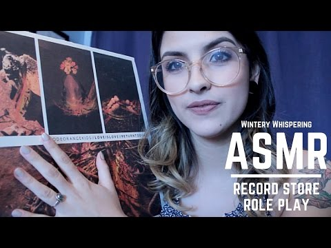 ASMR | Record Shop Roleplay