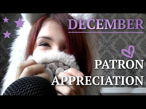 ASMR - December Patron Appreciation! ~ Tingly Fabric Scratching for Relaxation & Sleep ~