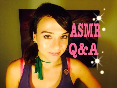 Ear to Ear Whispering *Up Close* Get to know me better*Q&A* ASMR