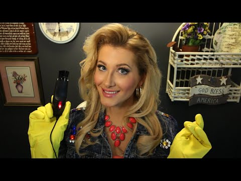 🎁 Ms. Miracle's Holiday Curse Removal #3 of 7: Mini Vacuum (Binaural ASMR Role Play)