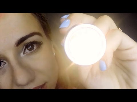 Inaudible Eye Exam Role Play  with Light Triggers *ASMR*