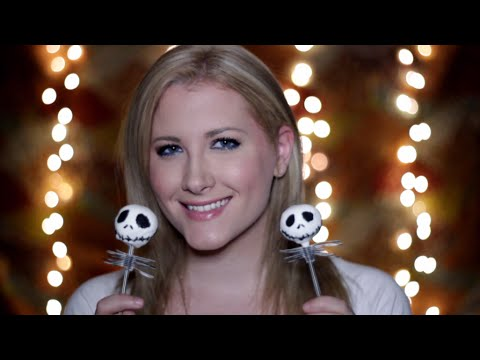 Tutorial Tingles: Jack Skellington Halloween Cake Pops (Binaural ASMR, Soft Spoken, Whispered)