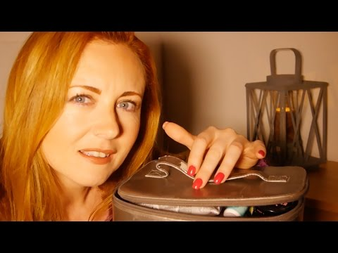 What's In My ASMR Makeup Bag? ❥Binaural Sounds & Soft Speaking❥