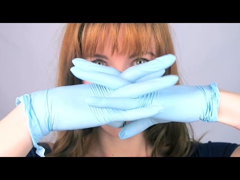 ASMR Medical Latex *** GLOVES ONLY *** in Your Ears (ear to ear, soft hand movements, no talking)
