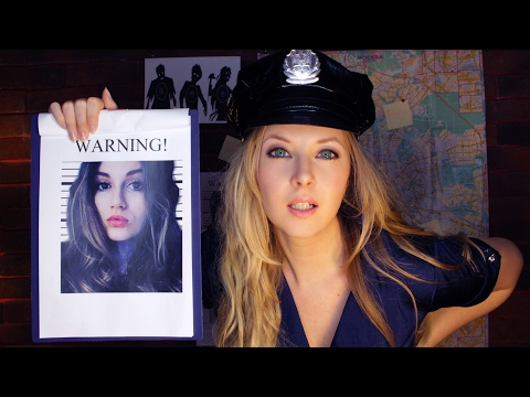 👮ASMR-POLICE👮: gentle inspection🔦and medical examination🚘Playful roleplay