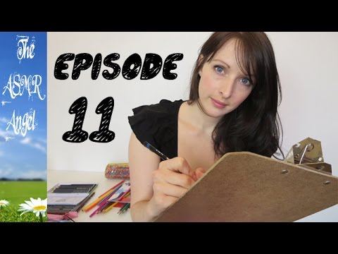 Art With Angel - ASMR Face / Portrait Sketching - Personal Attention EP11