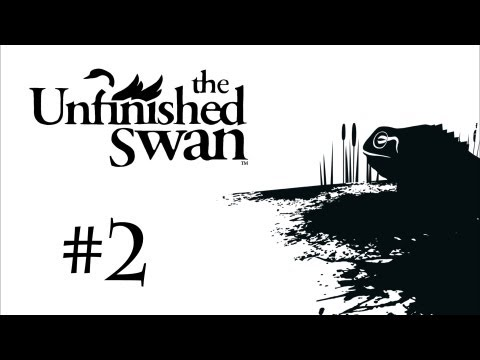 ASMR Let's Play The Unfinished Swan - Part 2 (PS3)