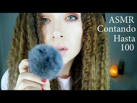 ASMR Counting to 100 in Spanish *Contando hasta 100