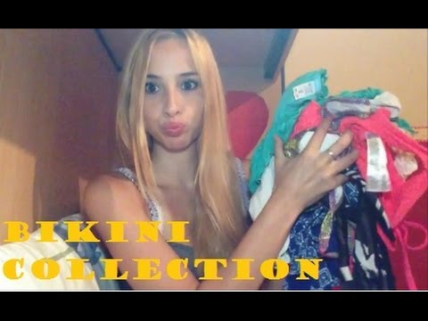 ASMR Bikini Collection Whispering Show And Tell
