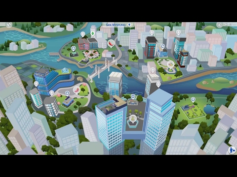 Relaxing Let's Play Sims 4 City Living