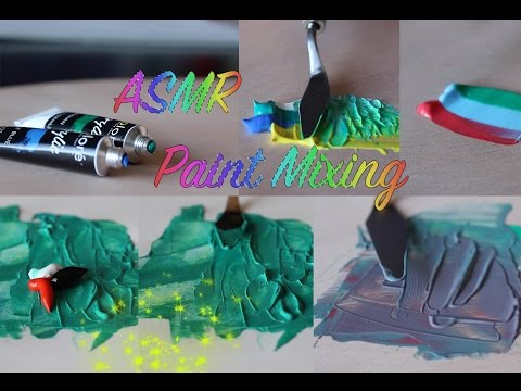 ASMR Color Mixing