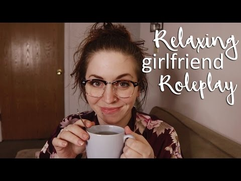 ASMR 💕 Let's have tea! Relaxing Girlfriend Roleplay