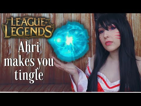 ASMR - AHRI ROLEPLAY ~ Let Me ASMR You! Whispers, Mouth Sounds, Kisses ~