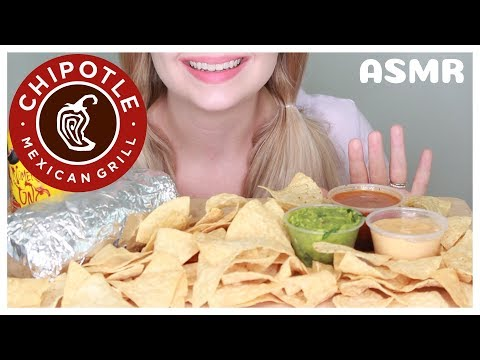 ASMR: Chipotle Burrito and Chips *Eating Sounds*