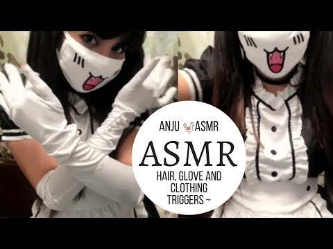 ASMR   Hair And Fabric Sounds   Intensely Relaxing Sounds ♥