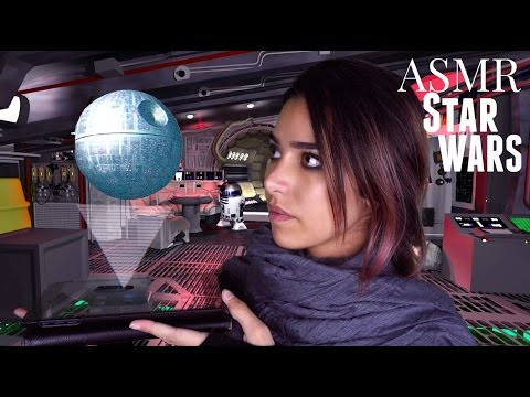 ASMR Star Wars Roleplay - Episode 1: The Lost Rebel (Tapping, Cottons, Plastic Sounds..)
