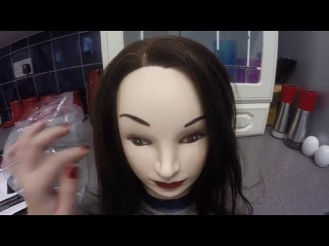 Asmr - Meet Clarissa123.. new Mannequin Head with long hair to be used in future vids!!