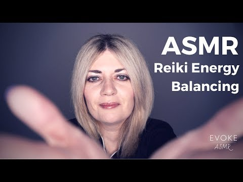 ASMR Reiki Energy Balancing | Hand Movements, Energy Plucking, Whispering, Personal Attention