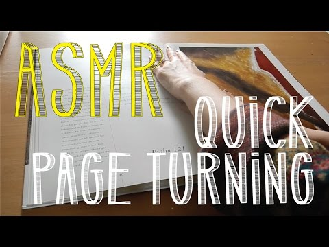 ASMR Quick Art Book Page Turning | Thick Paper | No Talking | LITTLE WATERMELON
