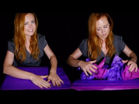 Relaxing Tissue for your Sleep Issue 🌟💤🌟 ASMR Crinkling Paper   Ear to Ear Sounds