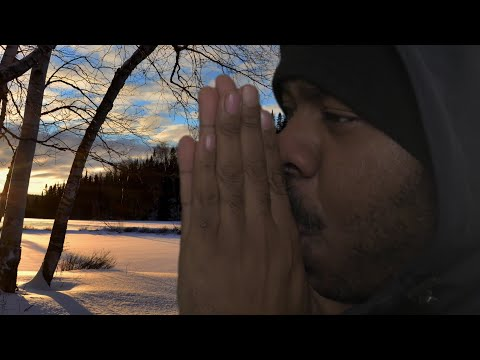 ASMR Snow Storm Roleplay | Walking In Snow | ICY Tingles