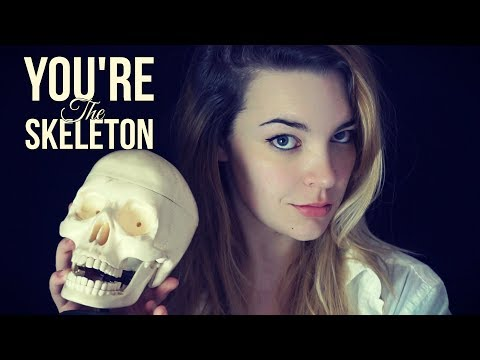 ASMR You're the Skeleton! Personal attention and Photoshoot role play [Binaural]