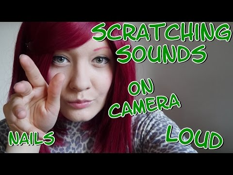 HARMONY ASMR Scratching and Tapping on the Camera