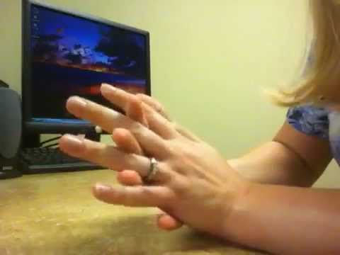 ~{}~Hand Whisper Video~{}~ Touching, feeling, folding, scratching, massaging.