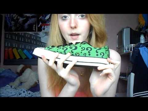 ASMR Show and Tell, Fabric Scratching - Converse - Soft Spoken