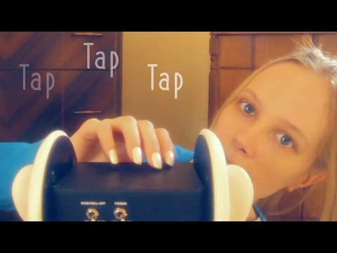 ASMR Tap Tap Tapping and Whispering
