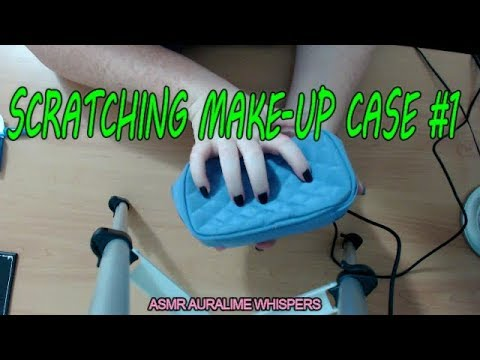 ASMR | SCRATCHING MAKE-UP BAG - FAST SCRATCHING - REQUESTED VIDEO