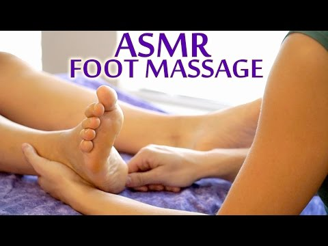 👣 ASMR Massage - Foot Massage Technique For Women - Soft Spoken Meera Hoffman
