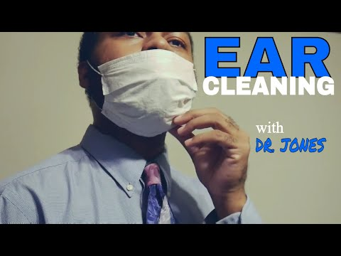 An Ear Cleaning Roleplay [ASMR] with DR JONES | Ear Flushing | Ear Wax Removal | Ear to Ear