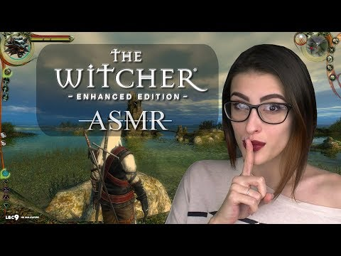 Let's play quietly ~ ASMR ~ The Witcher: Enhanced Edition - ASMR Let's Play
