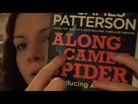 ASMR   Book Tapping, Page Turning, Soft Spoken Rambles
