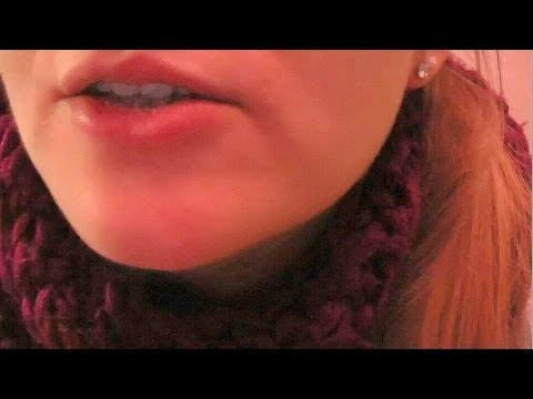 ASMR ♥ Mouth Sounds, Chewing Gum, Tapping, Crinkling