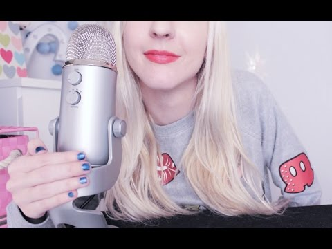 ASMR Unintelligible Whisper ♡ Ear to Ear, Mouth Sounds, Inaudible Whispers