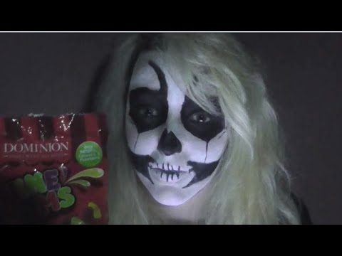 ASMR: Halloween Edition - Halloween Facts, Crinkling, Eating Sounds, Soft Speaking