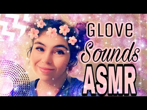 ASMR // Relaxing Glove Sounds// Tapping