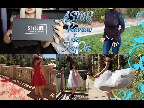 ASMR StyleWe Review & Try on