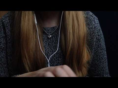 ASMR scratching and tapping sounds