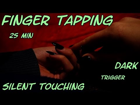 HARMONY ASMR Finger Tapping Silent Touching