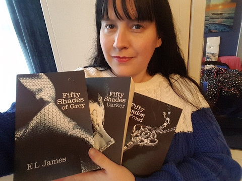 Asmr - 50 shades of grey book series Inaudible whispering / tracing & CONTEST! Happy Valentines Day