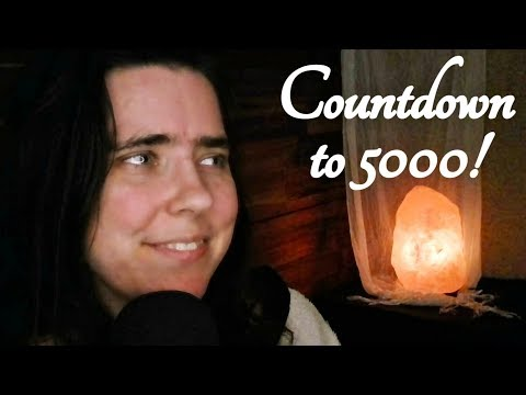 ASMR Announcing Countdown to 5000 Subscribers! (+ Channel Update)