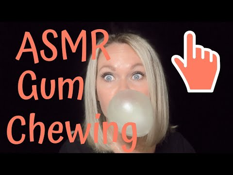 ASMR Gum Chewing   ASMR Wet Mouth Sounds