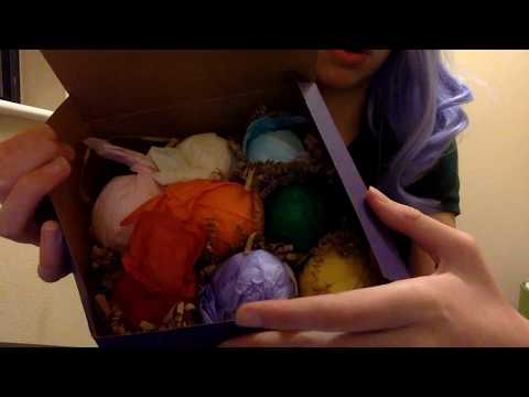 ASMR Girl Sells You Bath Bombs Roleplay! fizzy sound, tapping, whisper, soft spoken
